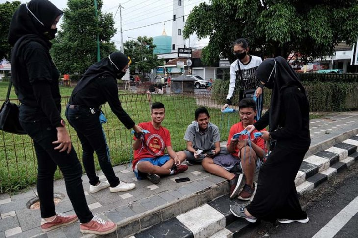 Presiden Jokowi instruksikan kampanye masif pencegahan COVID-19
