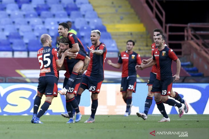 Klasemen Liga Italia setelah  Genoa keluar dari zona merah
