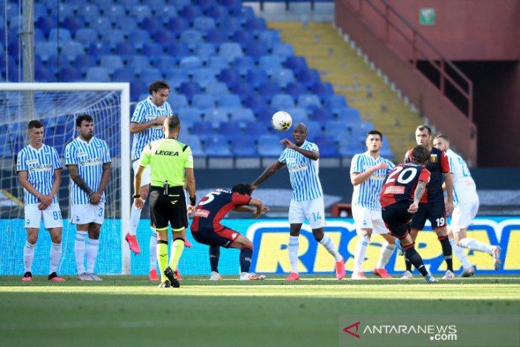 Genoa kembali keluar dari zona merah setelah menundukkan SPAL 2-0