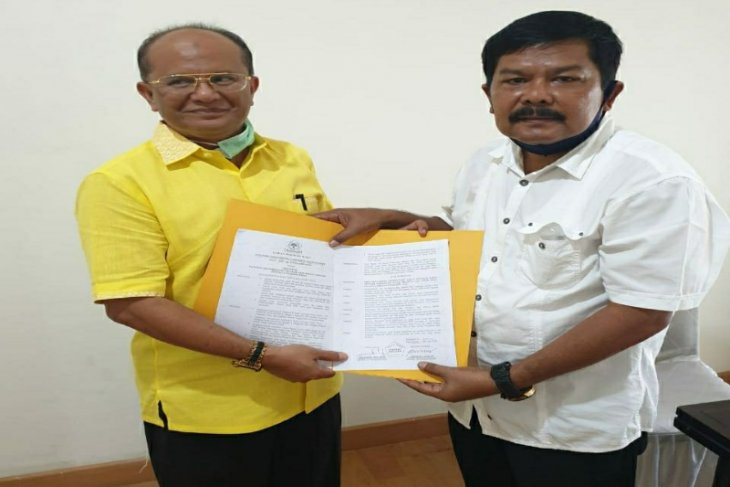 Golkar resmi usung pasangan Bahdin-Edi di Pilkada Sibolga 2020