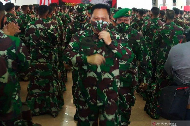 411 prajurit TNI AD dikirim  ke Papua Barat