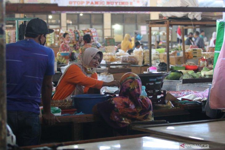 Pasar pahing kota Kediri dibuka
