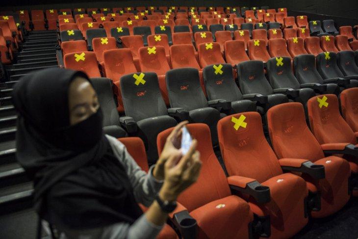 Jaringan bioskop CGV sudah mulai buka kembali