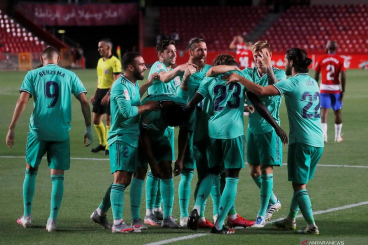 Real Madrid cuma butuh 2 poin untuk jadi juara liga Spanyol