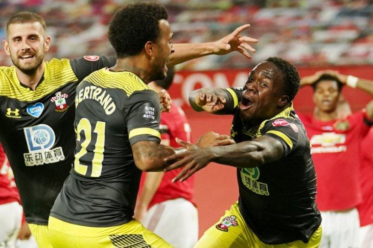 Liga Inggris: Ditahan Southampton, Manchester United gagal tembus peringkat ketiga