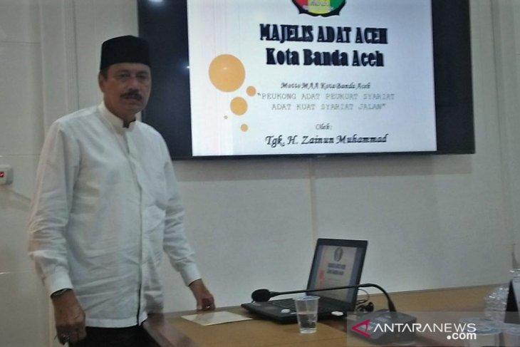 Agar adat terjaga di Banda Aceh, segera bentuk MAA kecamatan