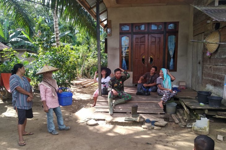 Komsos Satgas TMMD metode pembinaan teritorial