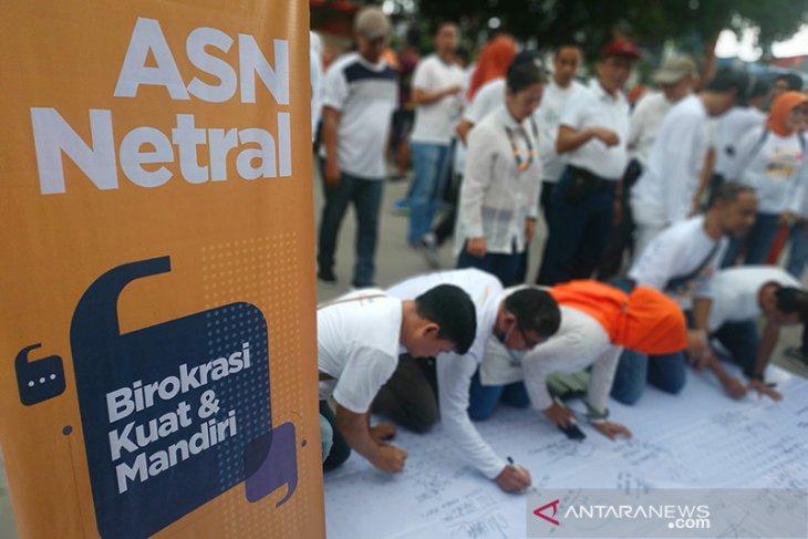 SKB Pengawasan Netralitas ASN di Pilkada 2020 ditandatangani