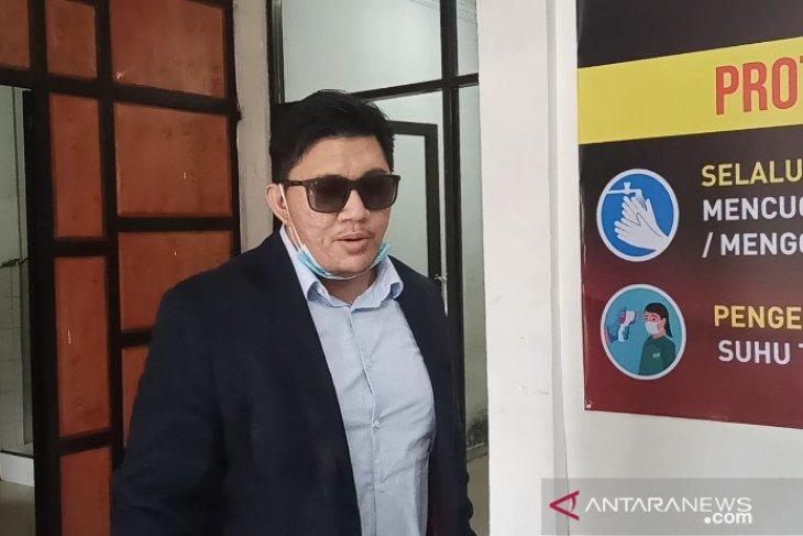 Tiba di Polrestabes Medan, Kuasa Hukum: Doain semoga HH bisa melewatinya