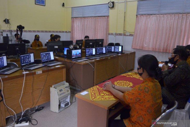 SMK Pariwisata di Badung berikan kuota internet untuk peserta MPLS daring
