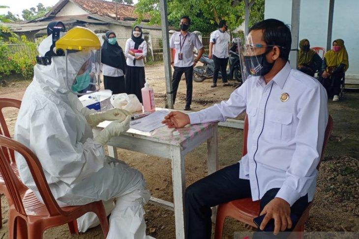 150 jajaran pengawas pemilu di Bangka Tengah ikuti rapid test