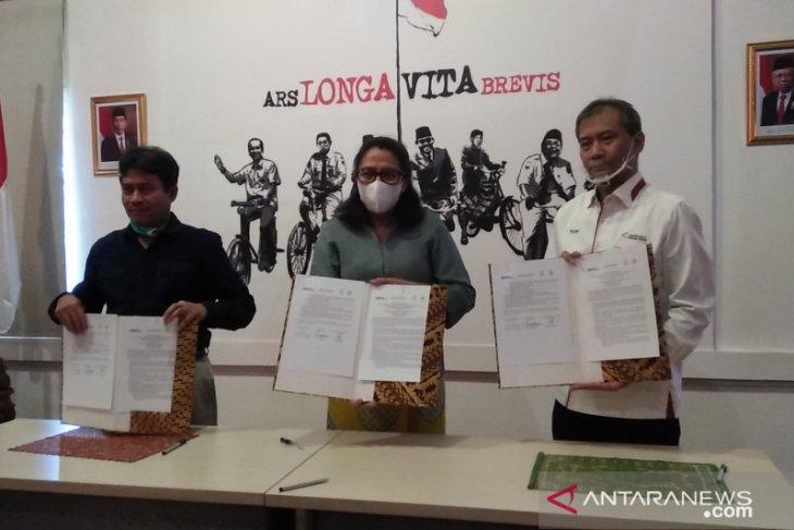 LKBN Antara-PFN-BP tandatangani  MoU integrasi klaster media BUMN
