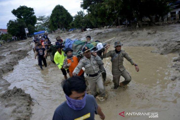 BPBD: 24 orang meninggal dan 69 hilang akibat banjir di Luwu Utara