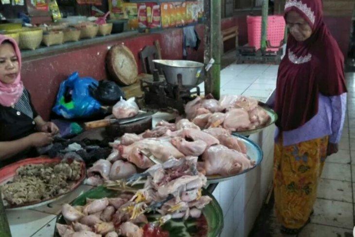Harga daging ayam capai Rp90 ribu perekor