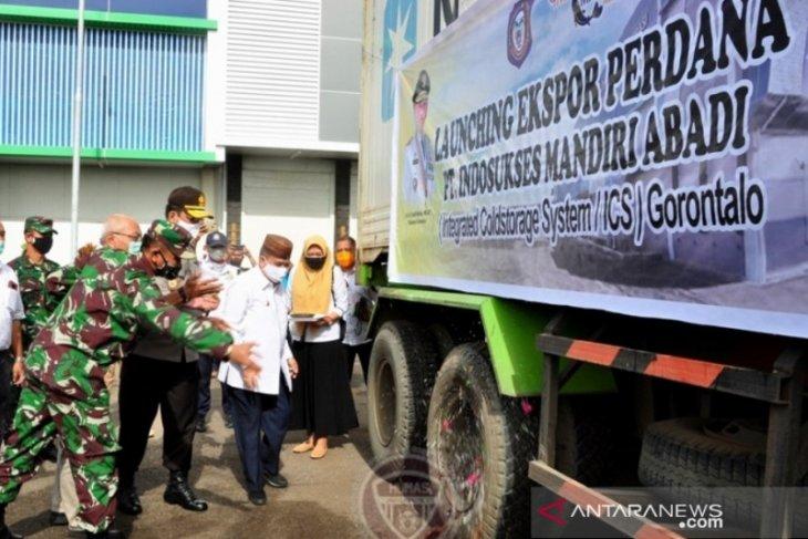 Wagub Gorontalo melepas ekspor udang vaname ke Jepang