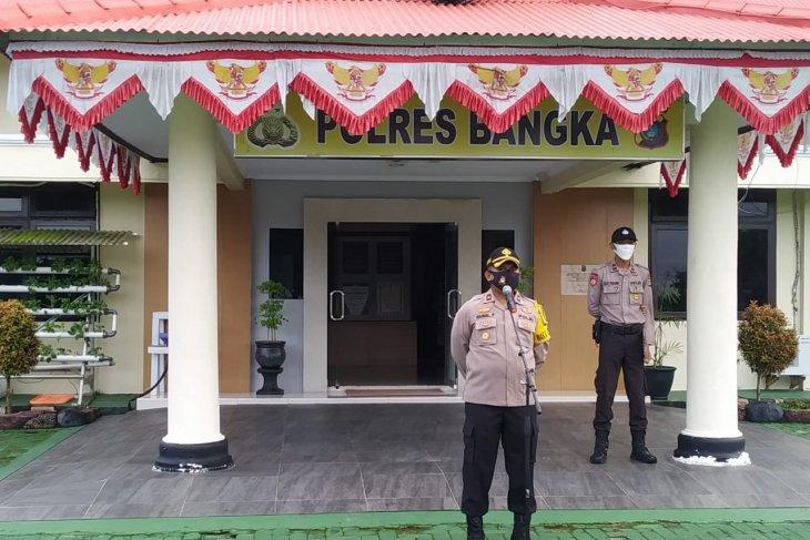 Wakapolres Bangka tekankan personel polisi jaga kredibilitas Polri