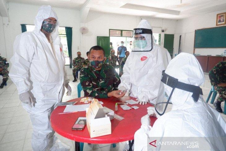 Tindaklanjuti instruksi panglima TNI, 182 personel Kodim 0211/TT dirapid test