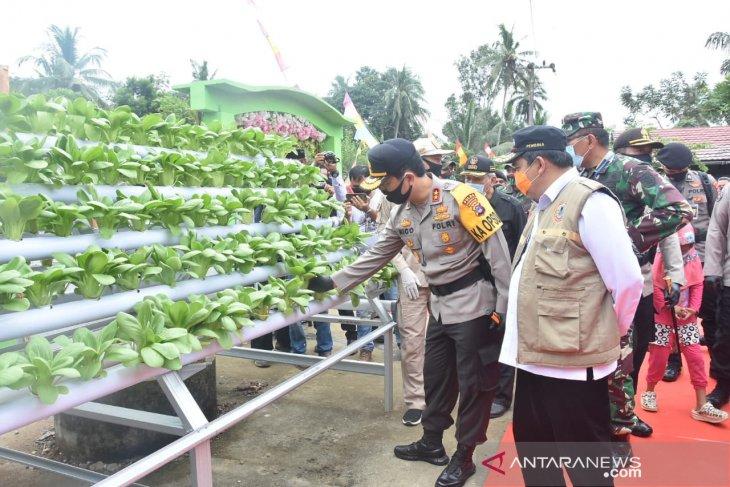 S Kalimantan Police Chief appreciates HST's Batu Tangga resilient village