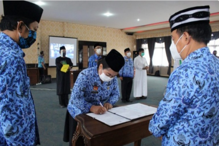 Wabup Sanggau minta pejabat fungsional tingkatkan kinerja