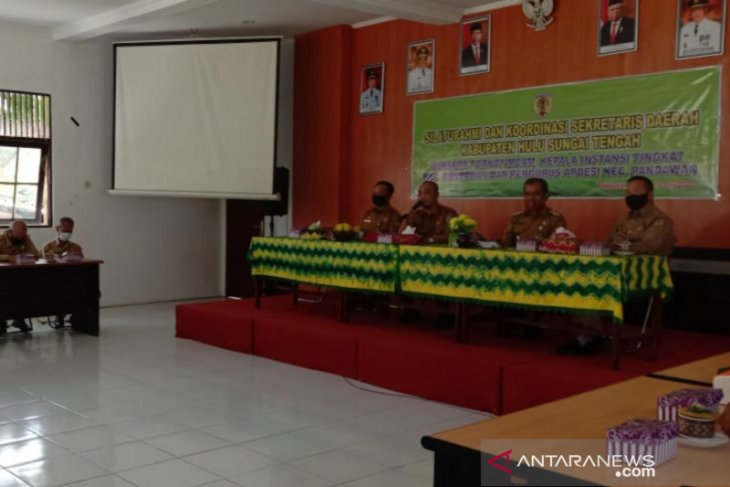 Pj Sekda HST silaturahmi dan koordinasi di Kecamatan Pandawan