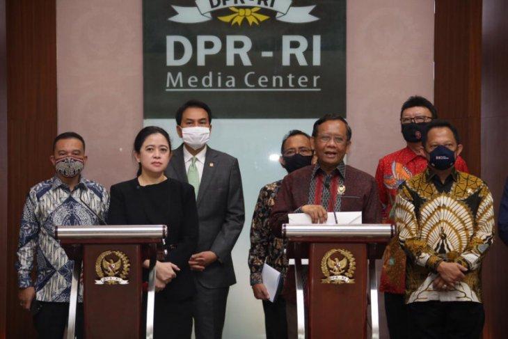 Mahfud MD: Pancasila tetap lima sila dalam RUU BPIP