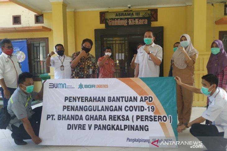 Forum BUMN Babel salurkan APD tenaga medis