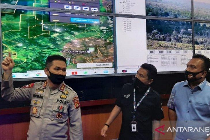 CCTV Asap Digital percepat Tim Satgas Karhutla lakukan pemadaman