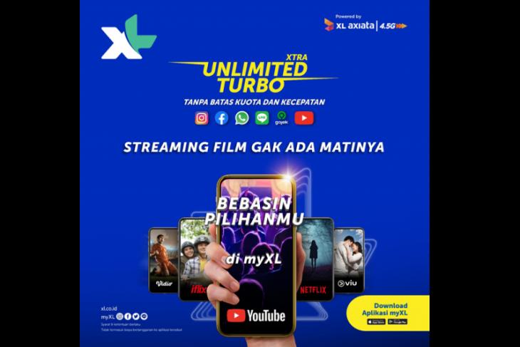 XTRA UNLIMITED TURBO bebaskan pelanggan XL prabayar akses Aplikasi Favorit