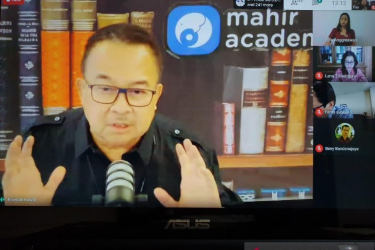 Undiknas diskusikan minat belajar mahasiswa dengan sistem daring