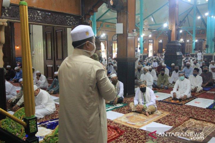 Wali Kota Banjarmasin nyatakan mesjid Jami contoh protokol kesehatan