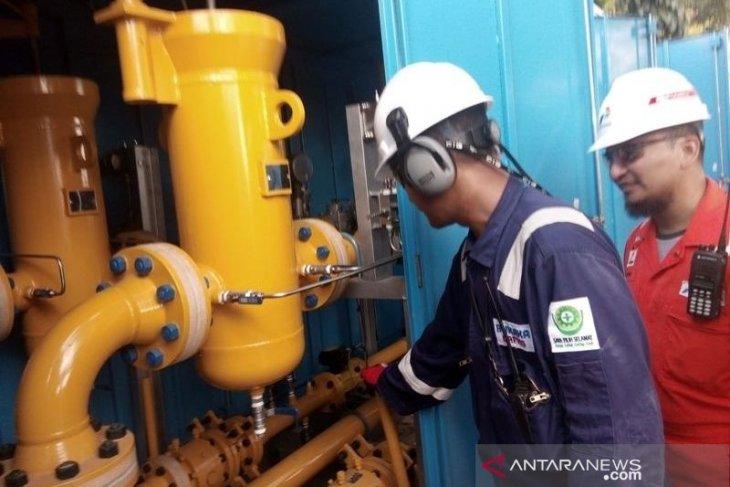 Pemasangan sambungan gas rumah tangga di Kabupaten Penajam sudah 40 persen