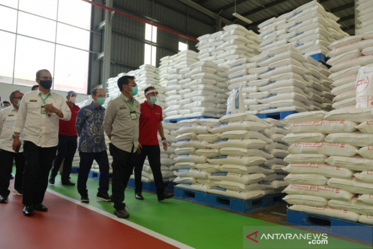 Menteri Pertanian lepas ekspor 4.000 ton olahan jagung dan gandum Banten