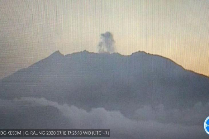 Gempa letusan masih dominasi aktivitas Raung