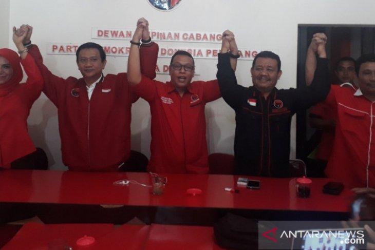 Pada Pilkada Depok, PDI Perjuangan resmi mengusung Pradi dan Afifah