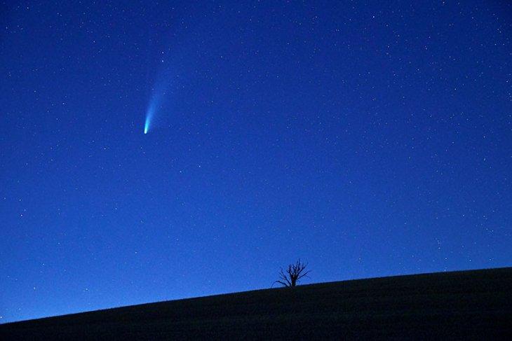 Habis Magrib, saksikan Komet Neowise melintas