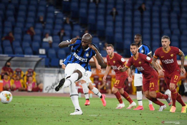 Lukaku menyelamatkan Inter dari kekalahan di kandang Roma