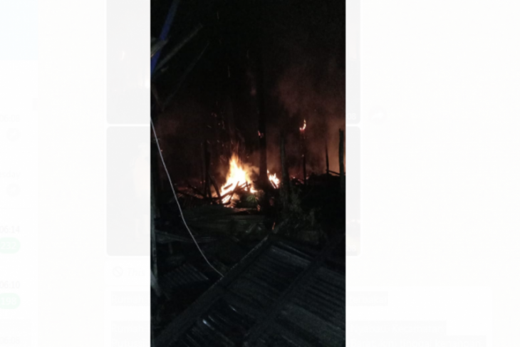 Dinkes buka posko kesehatan di lokasi kebakaran Rumah Betang Nyabau