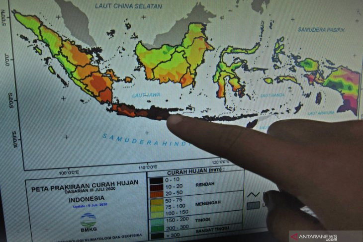 Extreme weather forecast in Indonesian regions on Feb 10-16: BMKG