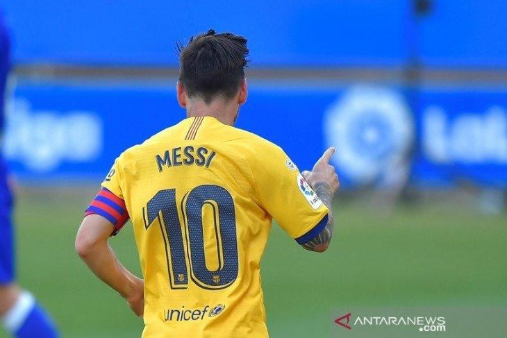 Messi akan pensiun di Barcelona