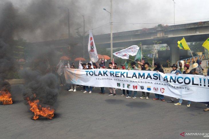 Terkait reklamasi Ancol, mahasiswa kembali demo
