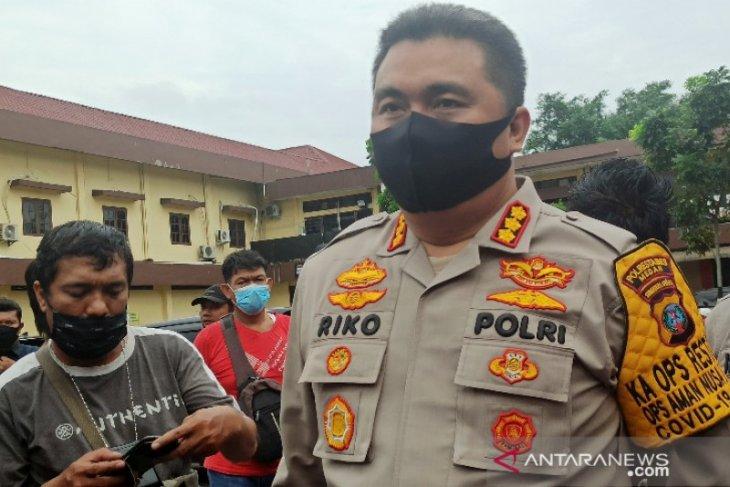 Anggota DPRD Sumut aniaya polisi ditetapkan jadi tersangka