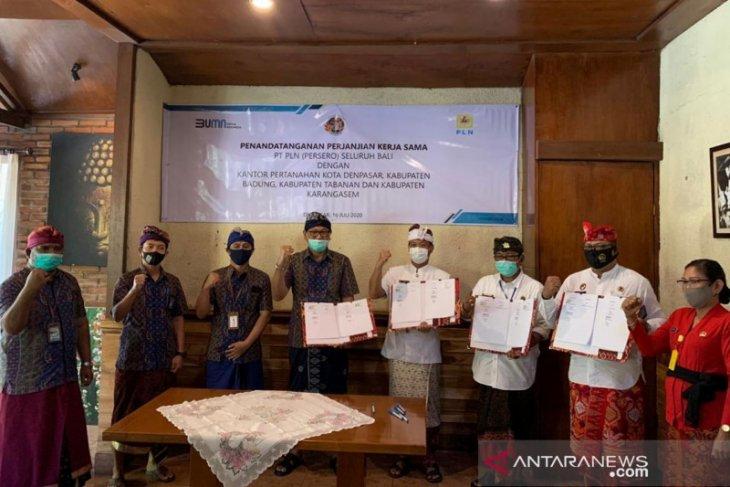 Legalisasi aset, PLN Bali gandeng BPN