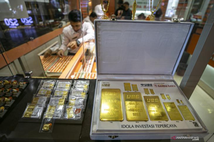 Harga emas melonjak lagi 21,2 dolar dipicu oleh ketegangan AS - China