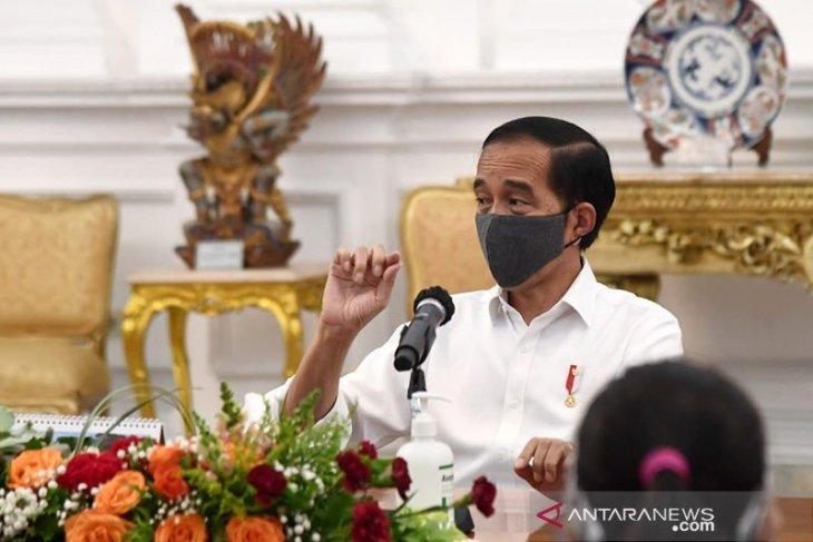 Presiden katakan proyeksi ekonomi global selama pandemi isinya minus