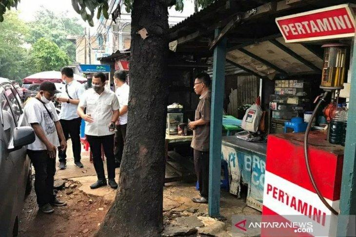 Kekasih Yodi Prabowo tak terlihat sedih saat olah TKP