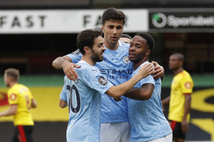 Watford di ambang degradasi setelah dihajar Manchester City 0-4