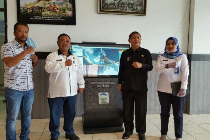 BMKG pasang WRS generasi baru di Kabupaten Karo