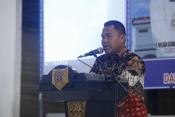 Wildan Buka Labuhanbatu Selatan Virtual Expo 2020