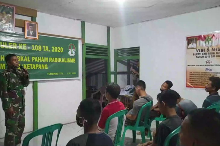 TMMD 108 melaksanakan penyuluhan pencegahan radikalisme