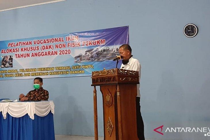 Bupati Bangka, Mulkan apresiasi penyaluran bantuan modal tanpa agunan